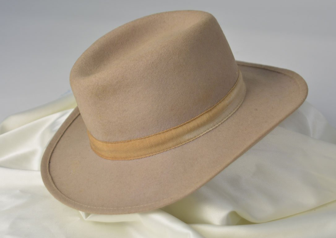 Johnny Winter's Tan Western Hat - 2