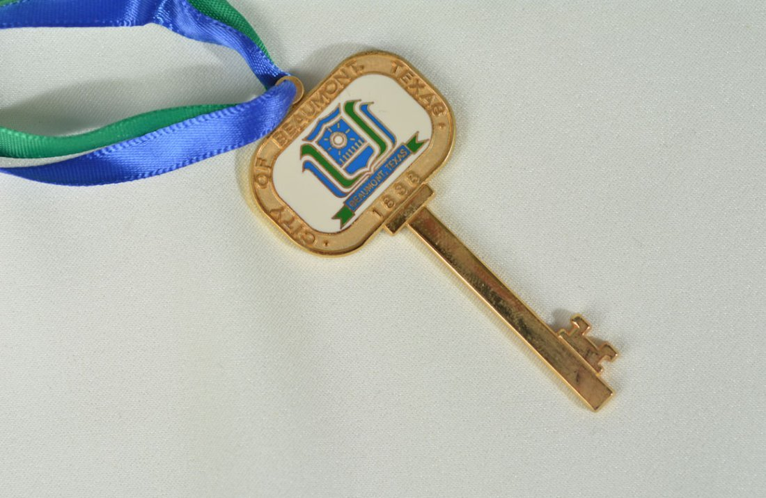Key to the City of Beaumont, TX - 2