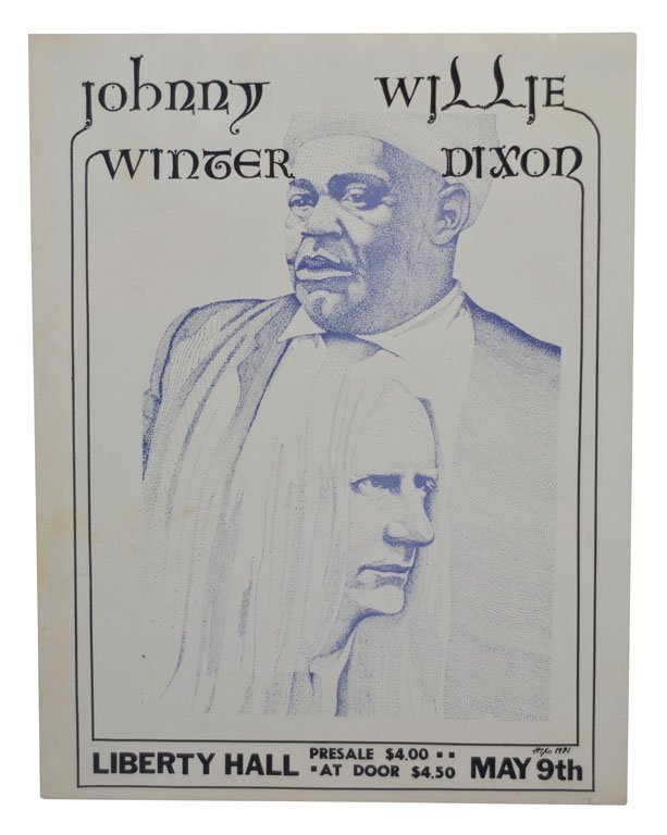 Poster: Johnny Winter with Willie Dixon