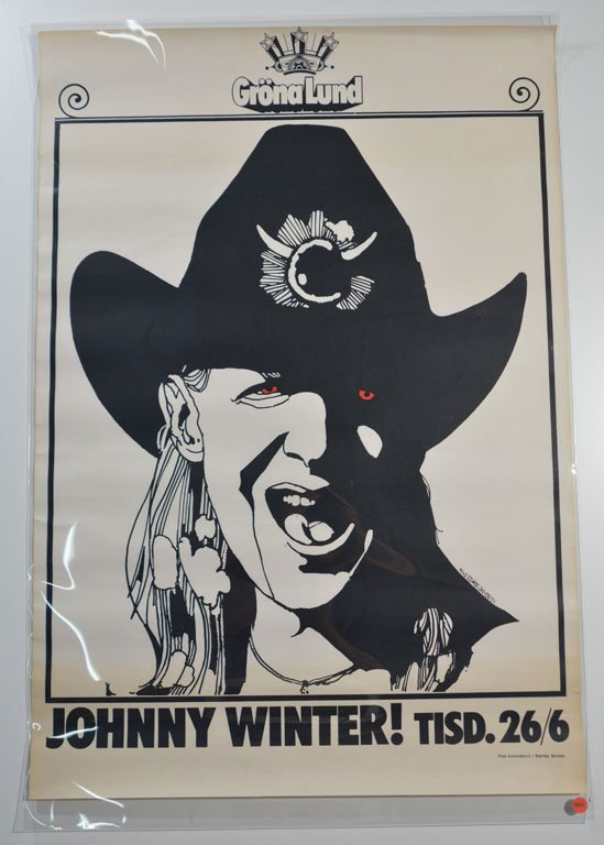 Red-Eyed Johnny - Swedish Poster