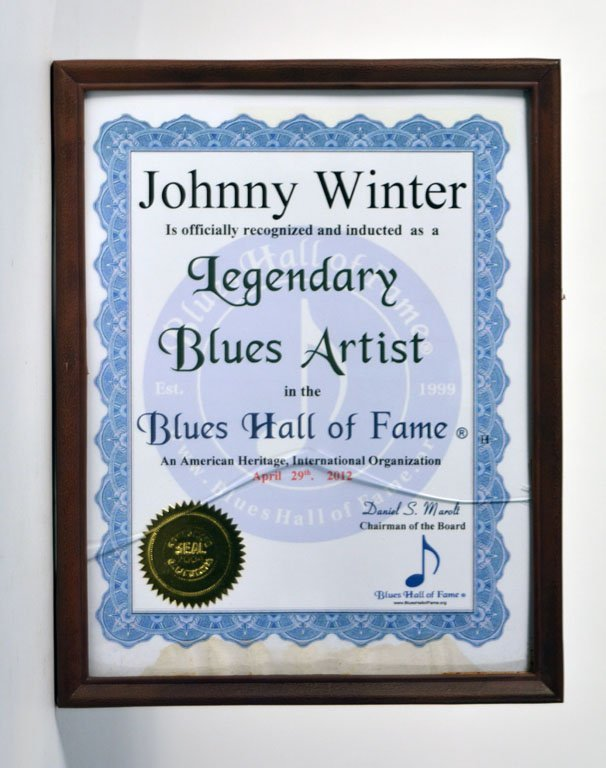 Blues Hall of Fame Induction