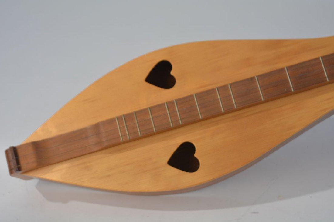 Appalachian Dulcimer With Heart-Shaped Sound Holes - 2