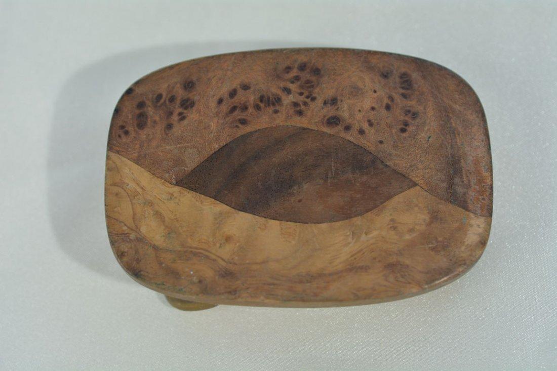 Johnny Winter's Wooden Belt Buckle