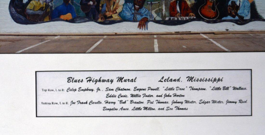 Blues Highway Mural in Leland, Mississippi - 2