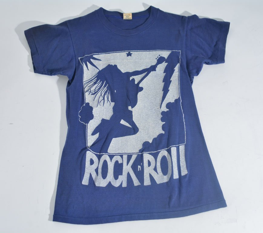Johnny Winter's Rock N Roll Printed T-Shirt