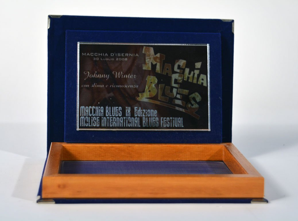 "Commemorative ""Macchia Blues"" Award"