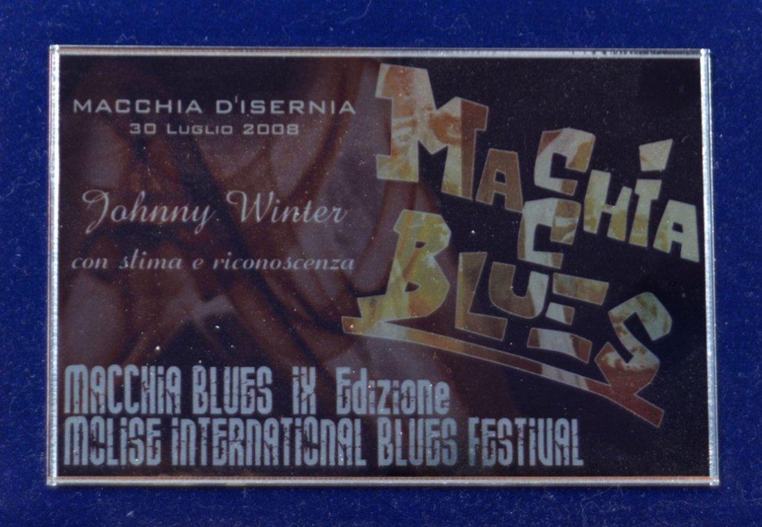 "Commemorative ""Macchia Blues"" Award - 2"