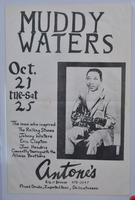 Poster: Muddy Waters at Antone's