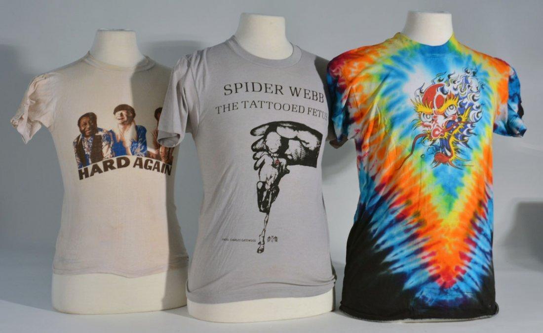 Three oif Johnny Winter's Shirts