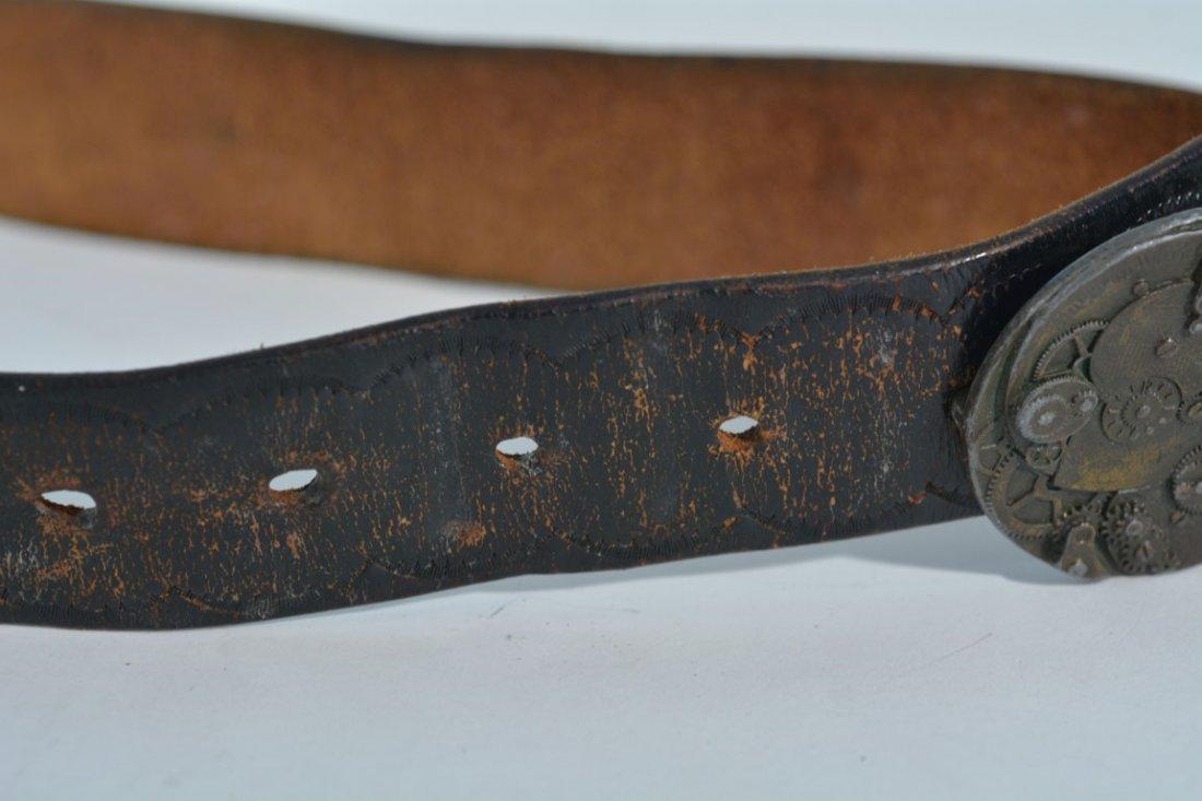 Johnny Winter's Clock Belt Buckle - 4