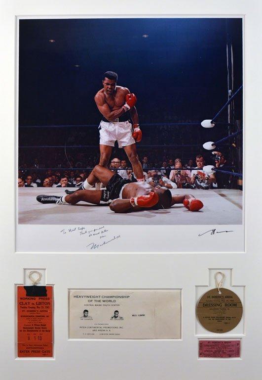 Muhammad Ali Triumphs Over a Fallen Sonny Liston - 2