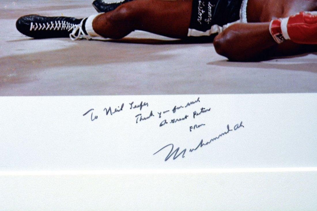 Muhammad Ali Triumphs Over a Fallen Sonny Liston - 4
