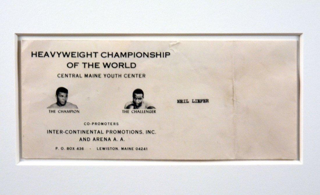 Muhammad Ali Triumphs Over a Fallen Sonny Liston - 6