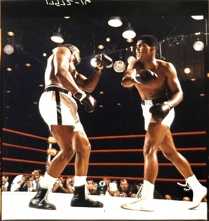 Cassius Clay vs. Liston, First Fight