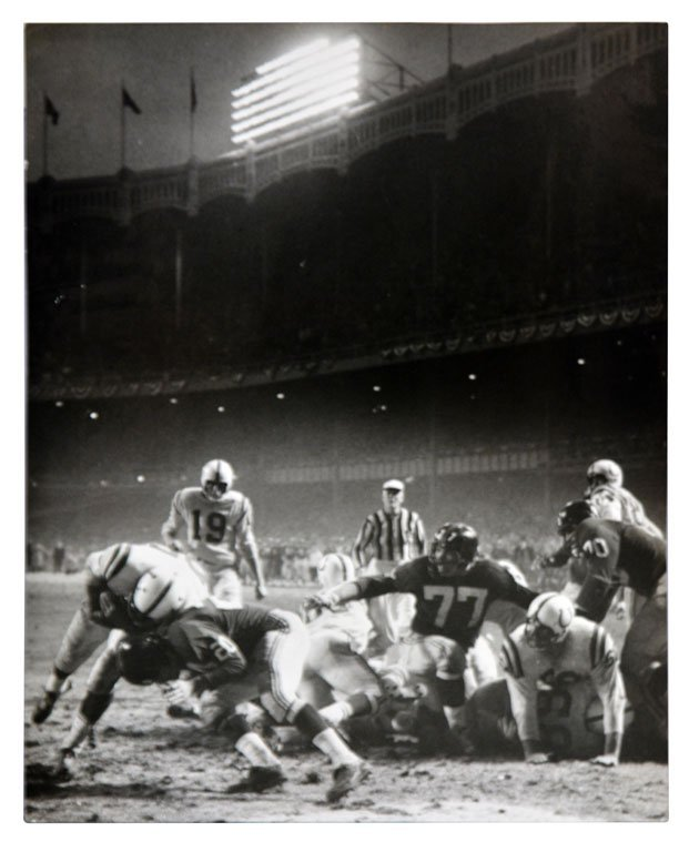 Baltimore Colts vs. New York Giants, 1958