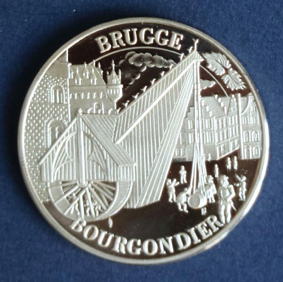 Golden commemorative medal 50 Burgundian
