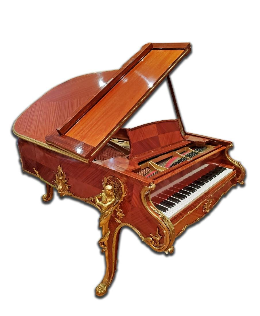 """Magnificent F. Linke Steinway & Sons """"Barber of"""