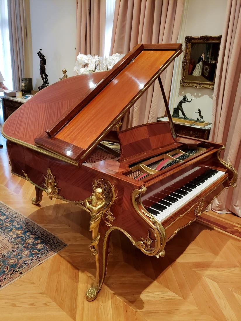 """Magnificent F. Linke Steinway & Sons """"Barber of - 2"""