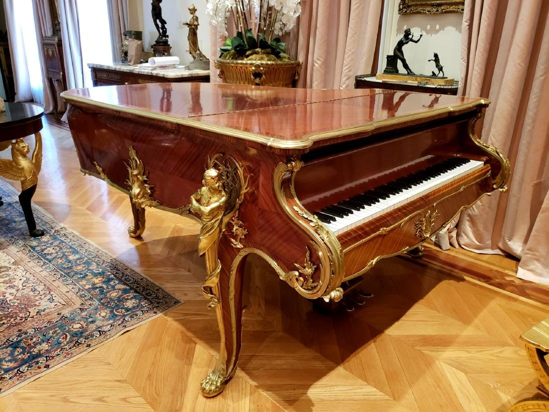"""Magnificent F. Linke Steinway & Sons """"Barber of - 3"""