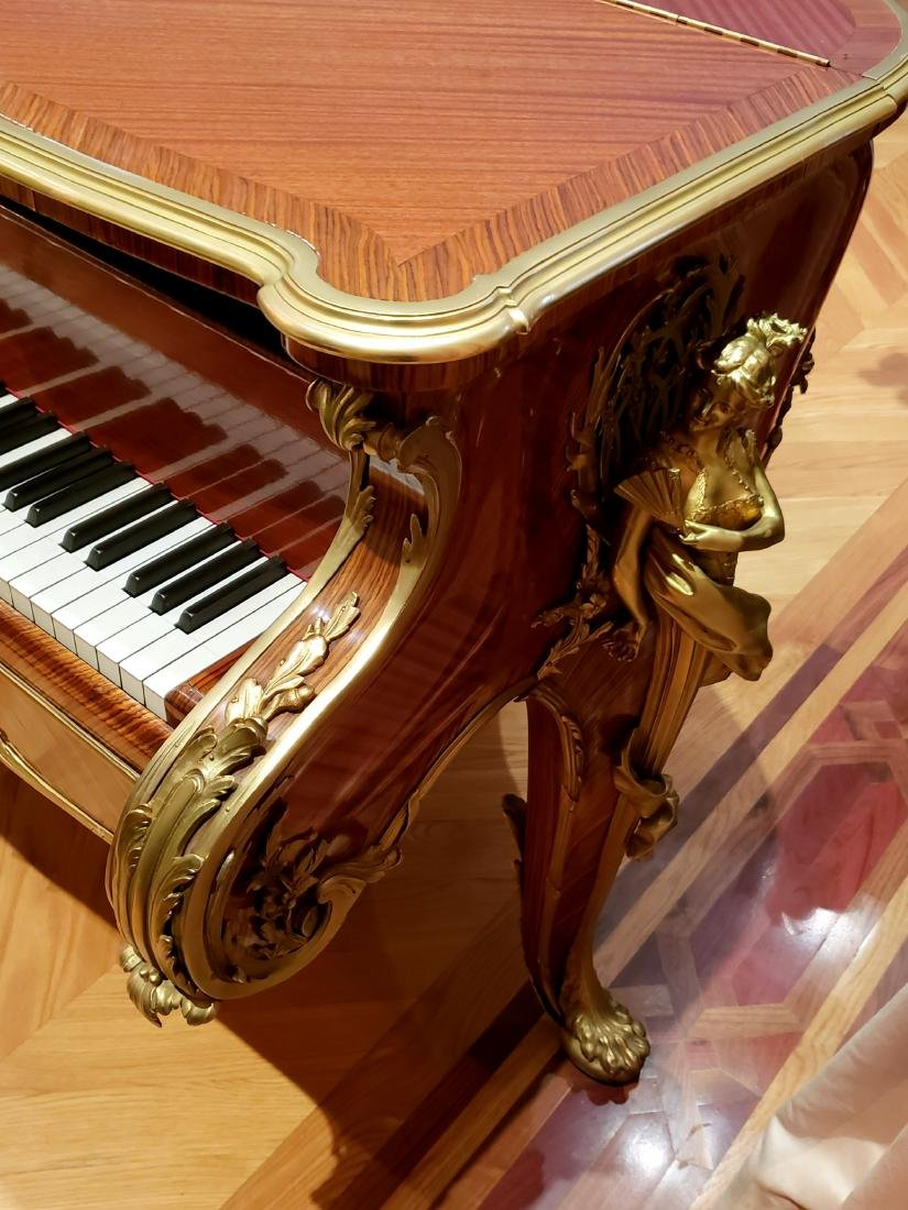"""Magnificent F. Linke Steinway & Sons """"Barber of - 9"""