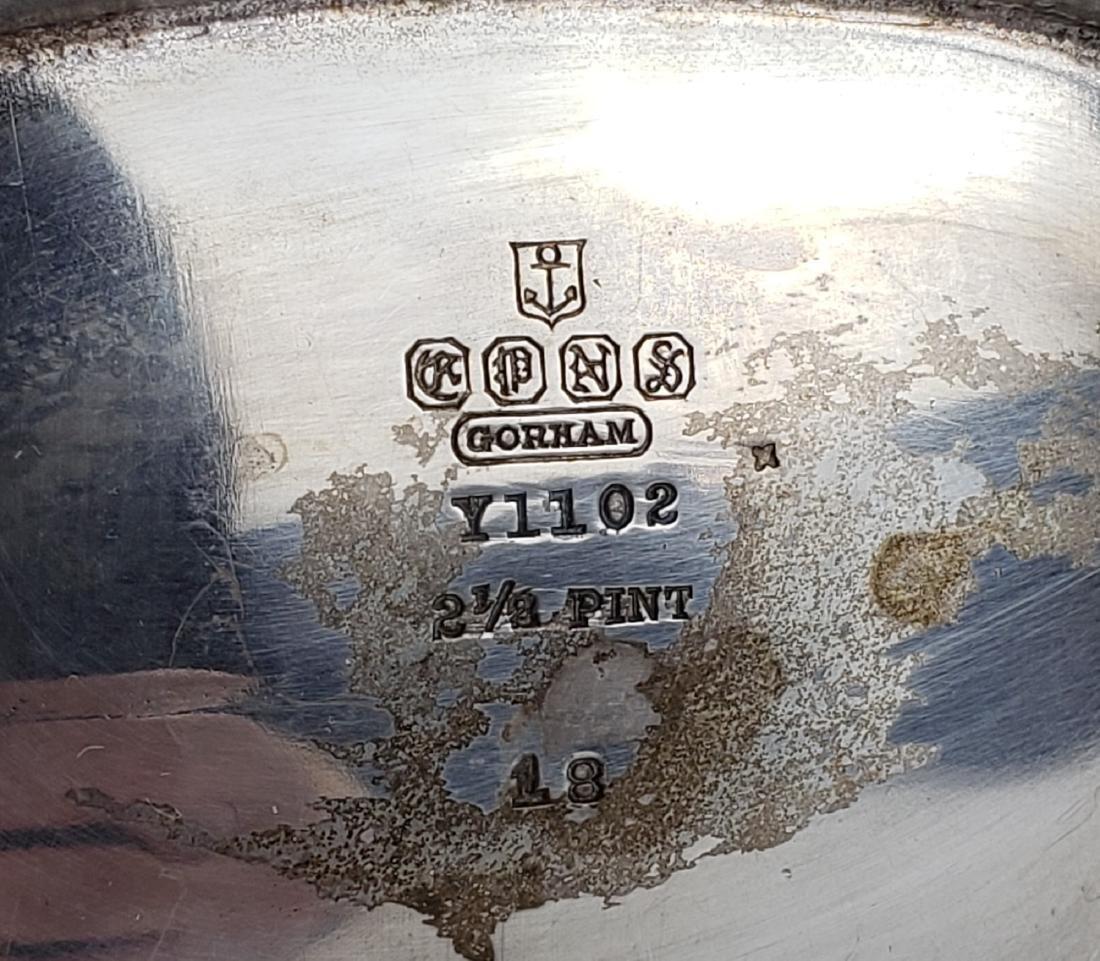 7 Pc. Gorham Silverplated Teaset - 10