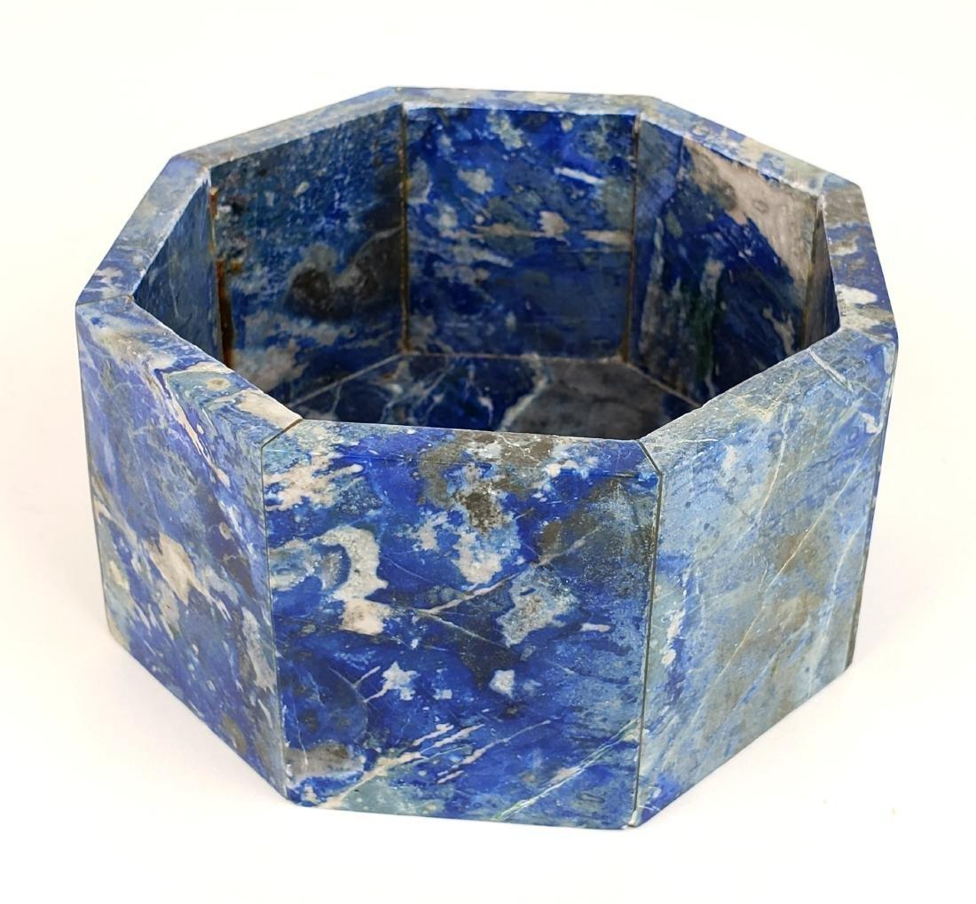 Lapiz Azuli & Silver Box - 5