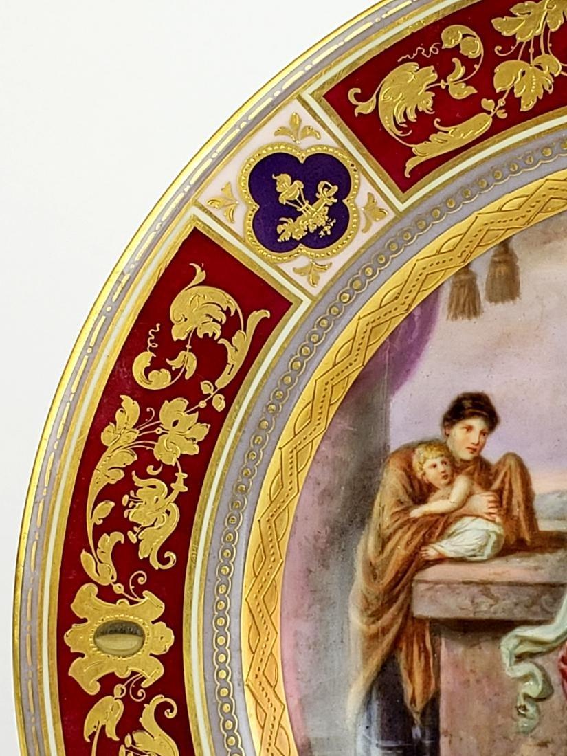 Royal Vienna Porcelain Plate - 3