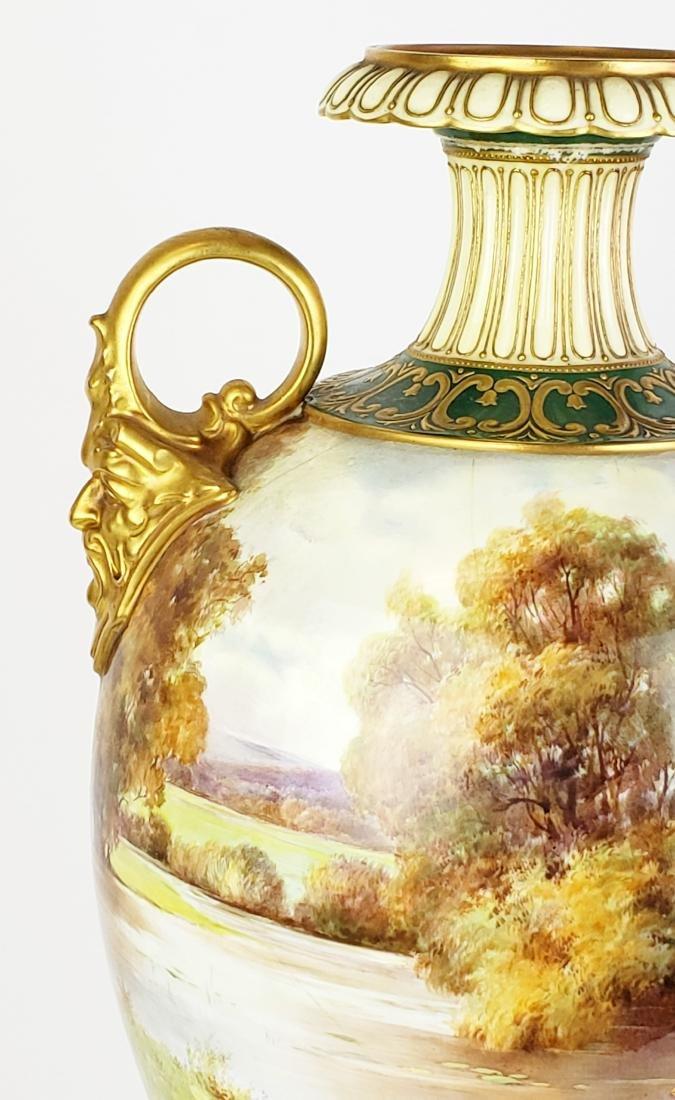 Large Paris Porcelain Handled Vase - 2