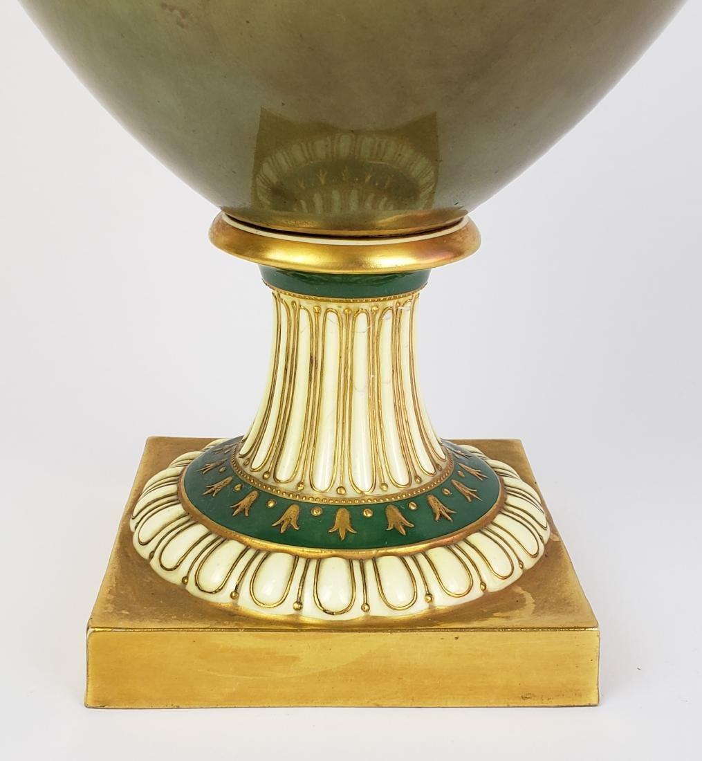 Large Paris Porcelain Handled Vase - 3