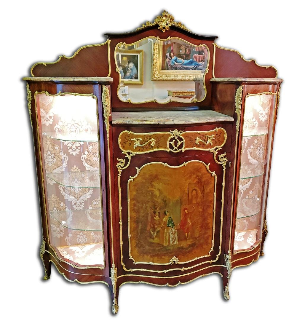 Magnificent Large 19th C. F. Linke Kingwood & Gilt