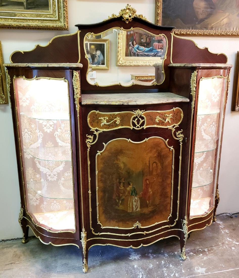 Magnificent Large 19th C. F. Linke Kingwood & Gilt - 2