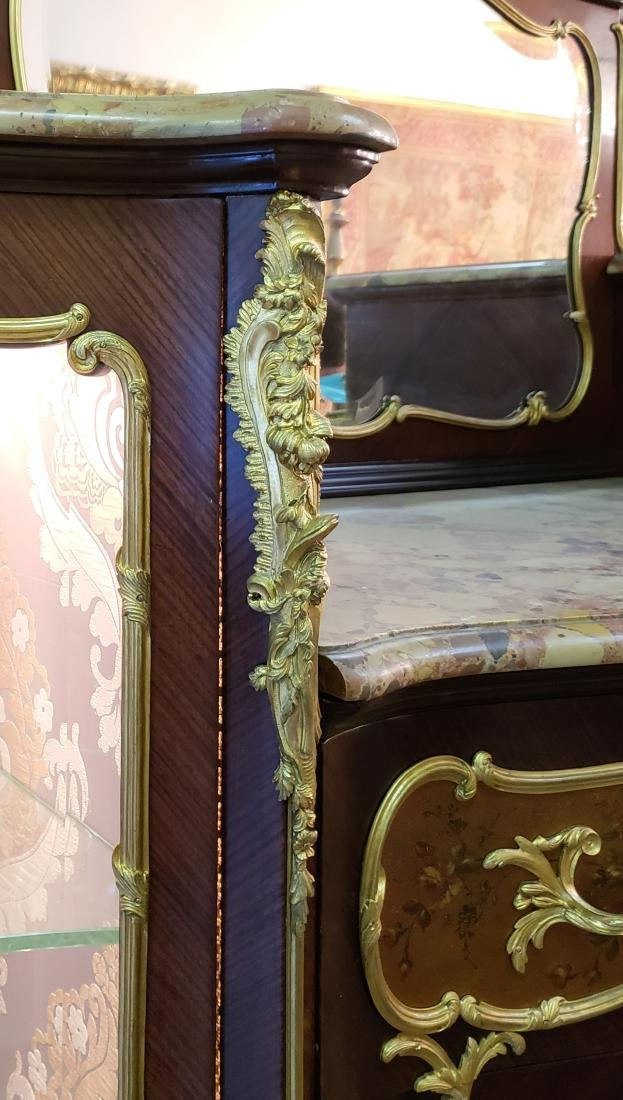 Magnificent Large 19th C. F. Linke Kingwood & Gilt - 4