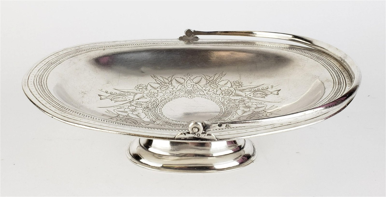 84 Silver Hand Engraved Bowl
