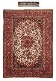 Persian Isfehan  Seyrafian  Rug
