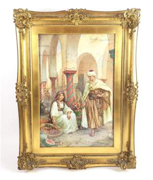 Francesco Ballesio (1860 - 1923 Italian) Orientalist