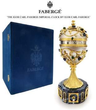 The Igor Carl Faberge Imperial Clock By Igor Carl