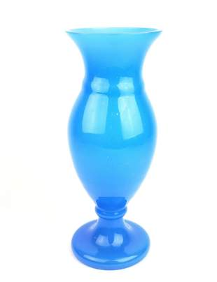 Large Baccarat Opaline Vase