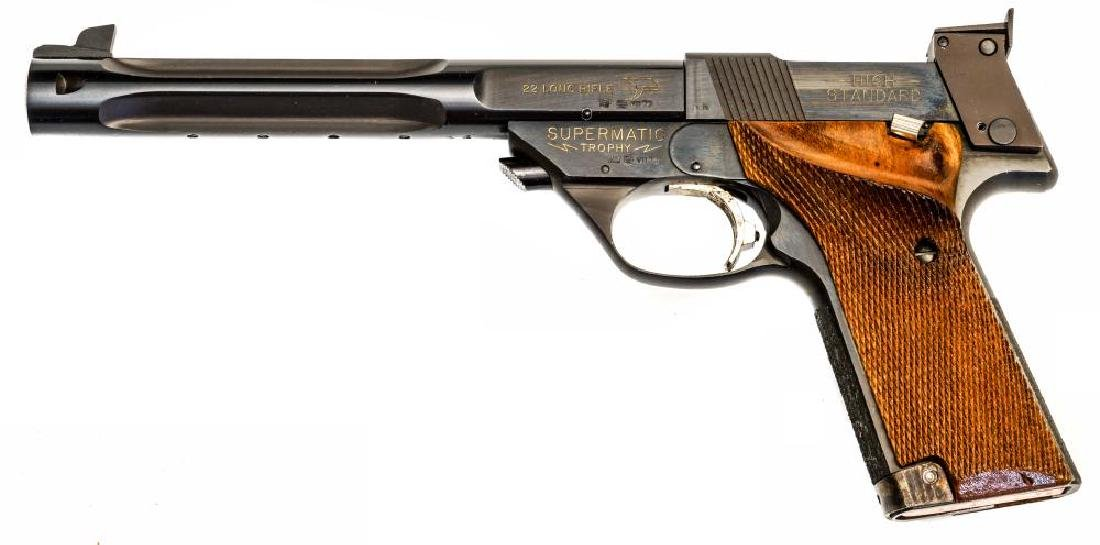 High-Standard model 107 Military Supermatic Trophy,
