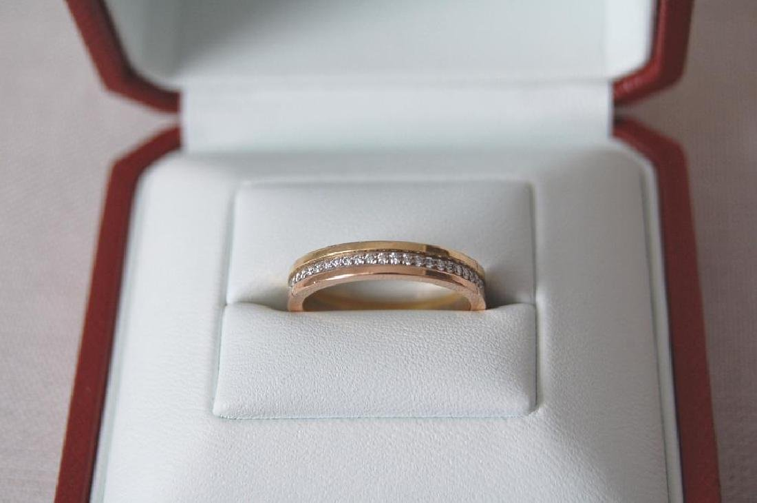 Cartier Wedding Band.Cartier Trinity Wedding Band Yellow 18k Gold With