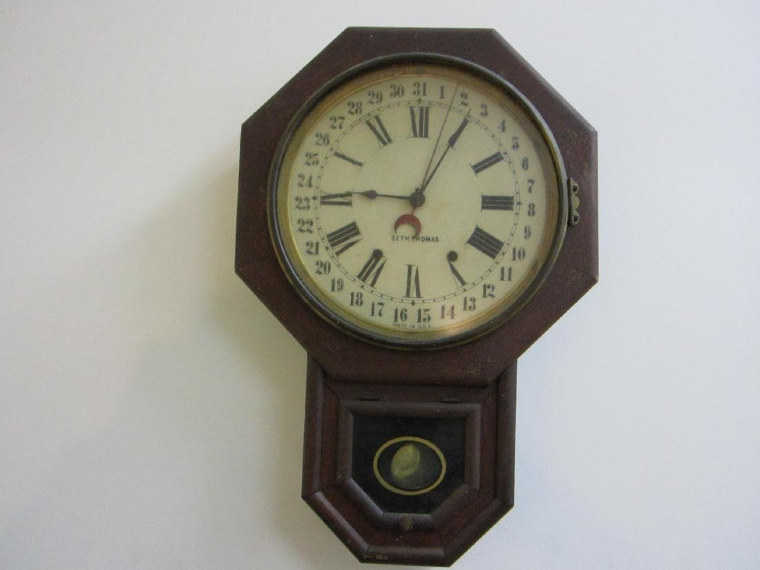 A nice Seth Thomas wall clock