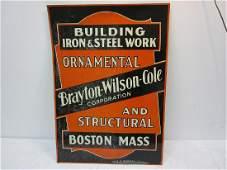 A Brayton-Wilson-Coles Sign