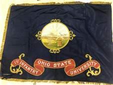 Ohio State University WW1 ROTC Flag