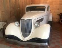 1934 Ford 3-window Coupe Custom Street Rod