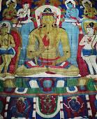 TIBETAN THANGKA OF WOOL KNITTING GUANYIN