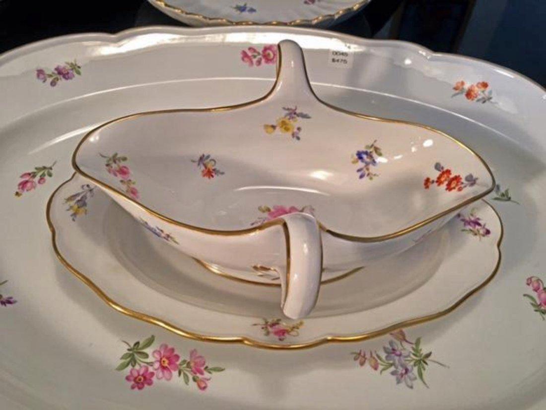 MEISSEN 7pc Lg Dinnerware Serving Set Tray Dish Tureen - 5