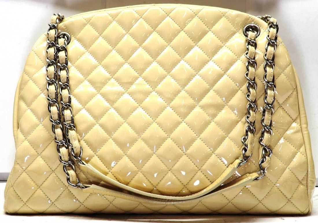 5accc70c99335b Chanel Beige Quilted Calfskin Just Mademoiselle Bag