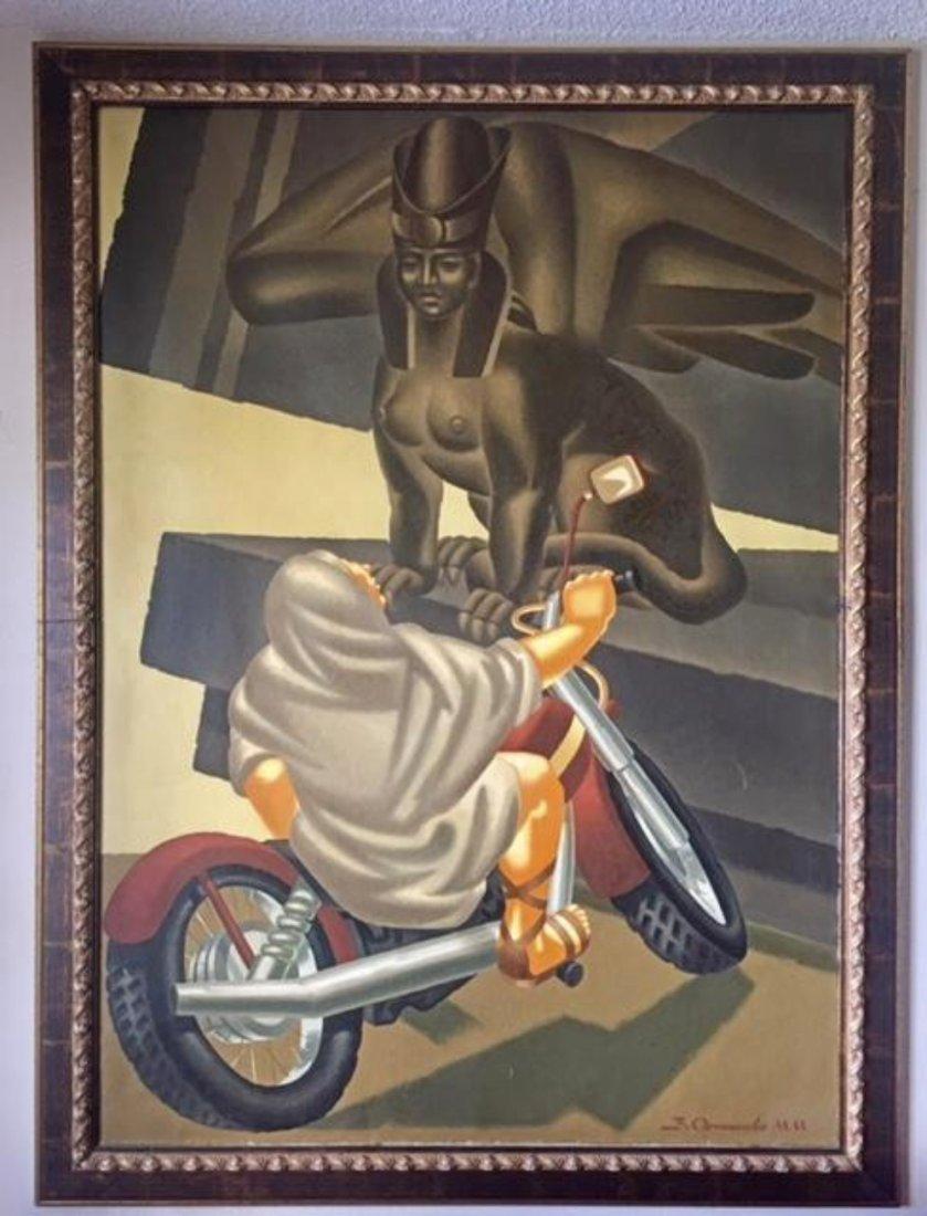 Vladimir Ovchinnikov (Russian, 1941-2015) Oil on Canvas