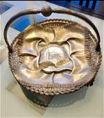 Antique PAVEL OVCHINNIKOV Russian Silver Sterling Bowl