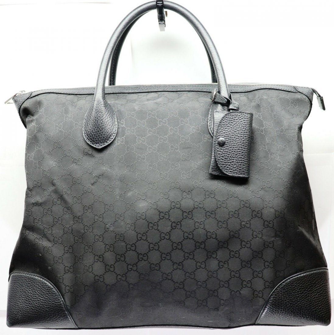 Gucci GG Guccissima Large Canvas and Leather Bag