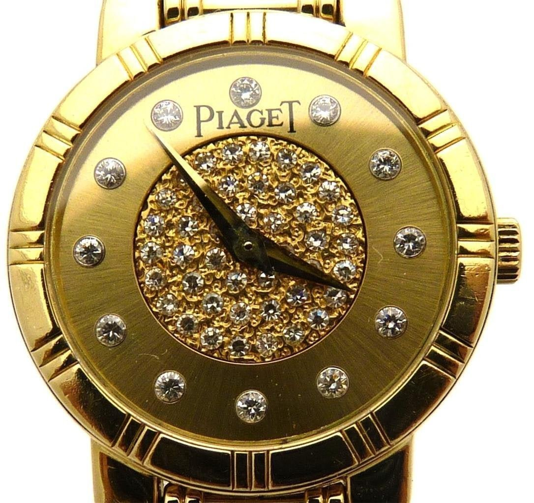 Piaget Dancer 18K Gold and Diamonds Watch